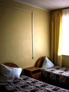 Проживание по 2-4 человека в номере с удобствами