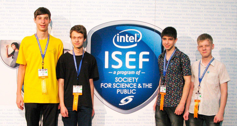 Финалисты конкурсы ISEF