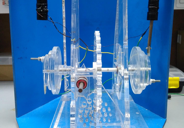 Соленоидный двигатель, разработанный и сконструированный в ЛАНАТе
